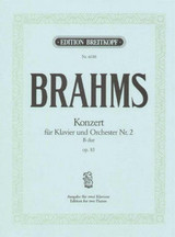 Piano Concerto No 2 In Bb Major Op83 Op8 - Brahms, Johannes - ISBN: 9790004165690