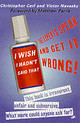 I Wish I Hadn't Said That - Cerf, Christopher; Navasky, Victor - ISBN: 9780006531494
