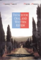 French For Oral And Written Review - Carlut, Charles/ Meiden, Walter - ISBN: 9780030758997