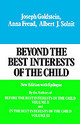 Beyond The Best Interests Of The Child - Goldstein, Joseph; Freund, Anna; Solnit, Albert J. - ISBN: 9780029123607