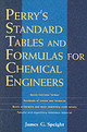 Perry's Standard Tables And Formulae For Chemical Engineers - Speight, James - ISBN: 9780071387774