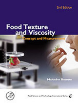 Food Texture And Viscosity - Bourne, Malcolm (cornell University, Food Science And Technology, Geneva, New York, U.s.a.) - ISBN: 9780121190620