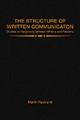 Structure Of Written Communication - Nystrand, Martin - ISBN: 9780125234825