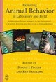 Exploring Animal Behavior in Laboratory and Field - ISBN: 9780125583305