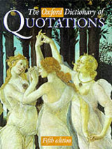 The Oxford Dictionary Of Quotations - Knowles, Elizabeth (EDT) - ISBN: 9780198601739