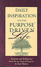 Daily Inspiration For The Purpose Driven Life - Warren, Rick - ISBN: 9780310802013