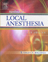 Handbook Of Local Anesthesia - Malamed, Stanley F. - ISBN: 9780323024495