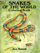 Snakes Of The World Coloring Book - Sovak, Jan - ISBN: 9780486284712