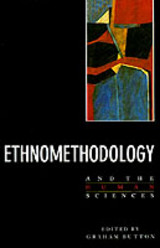 Ethnomethodology And The Human Sciences - ISBN: 9780521389525
