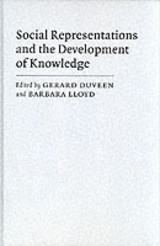 Social Representations And The Development Of Knowledge - ISBN: 9780521363686