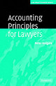 Accounting Principles For Lawyers - Holgate, Peter - ISBN: 9780521607223