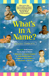 What's In A Name? - Osborn, Susan - ISBN: 9780671025557
