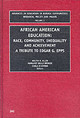 African American Education - Allen, Walter R. (EDT)/ Spencer, Margaret Beale (EDT)/ O'Connor, Carla (EDT... - ISBN: 9780762308293