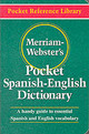 Merriam Webster's Pocket Spanish-english Dictionary - Merriam-webster - ISBN: 9780877795193