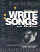 How To Write Songs On Guitar - Rooksby, Rikky - ISBN: 9780879306113