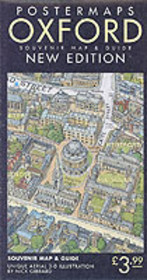 Oxford Aerial Map And Guide - Gibbard, Nick - ISBN: 9780952165811