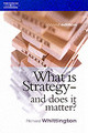 What Is Strategy And Does It Matter? - Whittington, Richard (reader In Strategy At The Said Business School, Unive... - ISBN: 9781861523778