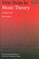 First Steps In Music Theory - Taylor, Eric - ISBN: 9781860960901