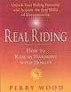 Real Riding - Wood, Perry - ISBN: 9781872119519