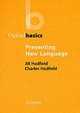 Presenting New Language - Hadfield, Jill - ISBN: 9780194421676