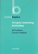 Simple Listening Activities - Hadfield, Jill - ISBN: 9780194421683