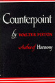 Counterpoint - Piston, Walter - ISBN: 9780393097283