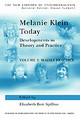 Melanie Klein Today, Volume 2: Mainly Practice - Spillius, Elizabeth Bott/ Tuckett, David (EDT) - ISBN: 9780415010450