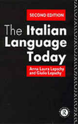 Italian Language Today - Lepschy, Anna-laura; Lepschy, Guilio - ISBN: 9780415078627