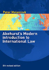 Akehurst's Modern Introduction To International Law - Orakhelashvili, Alexander (university Of Birmingham, Uk) - ISBN: 9780415243568