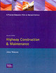 Highway Construction And Maintenance - Watson, J. P. - ISBN: 9780582234123