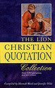 Lion Christian Quotation Collection - Wild, Jennifer; Ward, Hannah - ISBN: 9780745950969