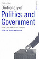 Dictionary Of Politics And Government - ISBN: 9780747572206