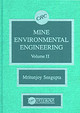 Mine Environmental Engineering, Volume Ii - Sengupta, Mritunjoy - ISBN: 9780849349584