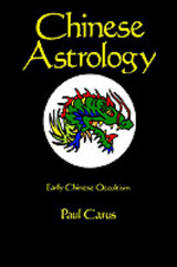 Chinese Astrology - Carus, Paul - ISBN: 9780875481555