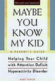 Maybe You Know My Kid 3rd Edition - Fowler, Mary (university Of Cambridge) - ISBN: 9781559724906