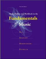 Wb+ Study Outline Fund Music - Hill - ISBN: 9780697340634