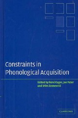 Constraints In Phonological Acquisition - ISBN: 9780521829632