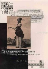 The Anonymous Renaissance - North, Marcy L. - ISBN: 9780226594378