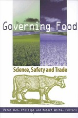 Governing Food - Wolfe, Robert; Phillips, Peter W.B. - ISBN: 9780889118973