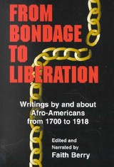 From Bondage To Liberation - Berry, Faith (EDT) - ISBN: 9780826413451