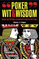 Poker Wit And Wisdom - Livingston, A. D. (EDT) - ISBN: 9781599210162