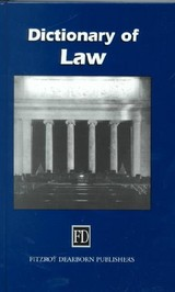 Dictionary Of Law - Collin, P. H. (EDT) - ISBN: 9781579581558