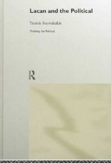 Lacan And The Political - Stavrakakis, Yannis - ISBN: 9780415171861
