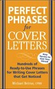 Perfect Phrases For Cover Letters - Betrus, Michael - ISBN: 9780071454063