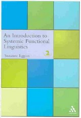 Introduction To Systemic Functional Linguistics - Eggins, Dr Suzanne - ISBN: 9780826457868
