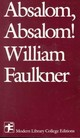 Absalom, Absalom! - Faulkner, William - ISBN: 9780075536574