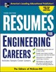 Resumes For Engineering Careers - Mcgraw-hill - ISBN: 9780071448901