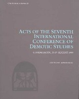 Acts Of The Seventh International Conference Of Demotic Studies, Copenhagen 2327 August 1999 - International Conference of Demotic Studies 1999 (Copenhagen, Denmark)/ Ryholt, Kim (EDT) - ISBN: 9788772896489