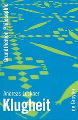 Klugheit - Luckner, Andreas - ISBN: 9783110177060