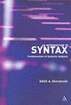 Introduction To Syntax - Moravcsik, Edith A. - ISBN: 9780826489463